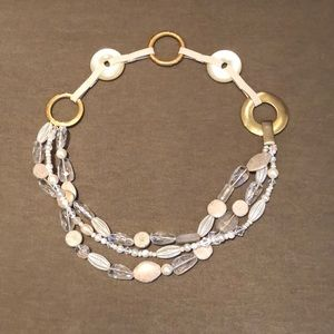 Accessories - Unique belt made of brass, stones and beads.